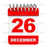 26 december geen training