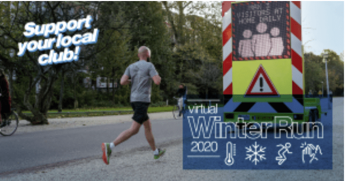 Wandelroutes Winter Run